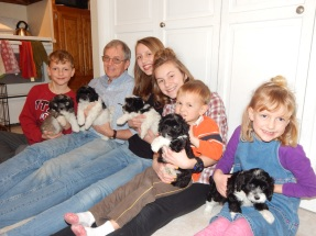 2016-2 Grandkids and Pups